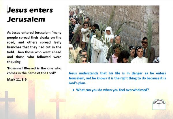 Holy Week trail 1 - Palm Sunday