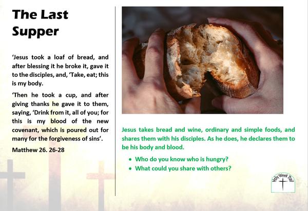 Holy Week Trail 2 - Breaking bread
