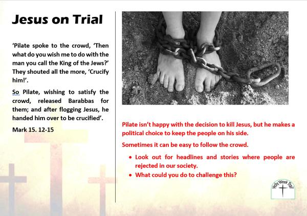Holy Week Trail 3 - Jesus on trial
