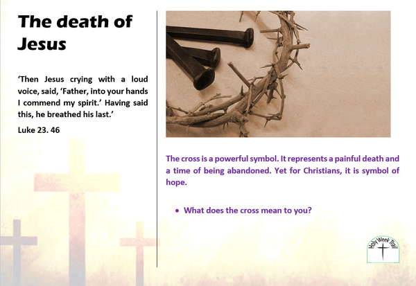 Holy Week Trail 4 - The death of Jesus