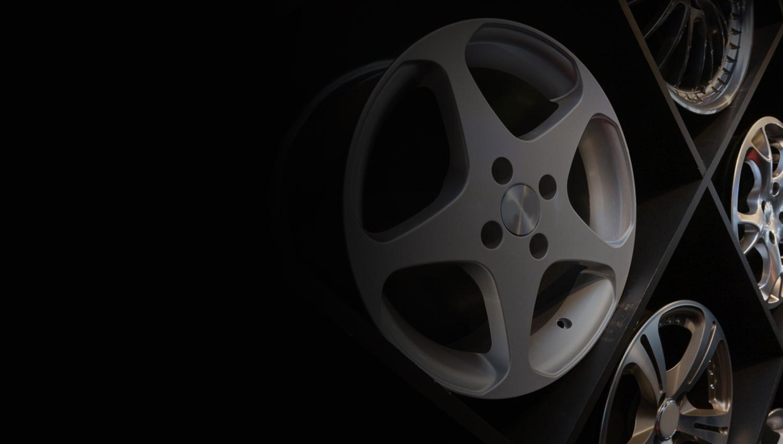 Diamond cut alloy wheel refurbishment Aberdeen
