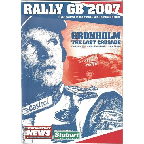 2007 Motorsport News Rally GB Guide