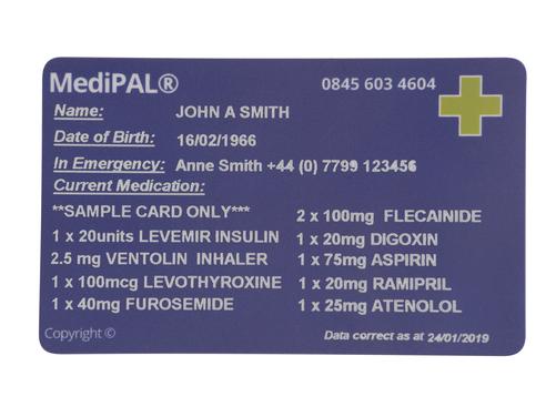 MediPAL® ID Card