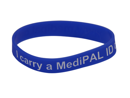 MediPAL® Silicone Wristband