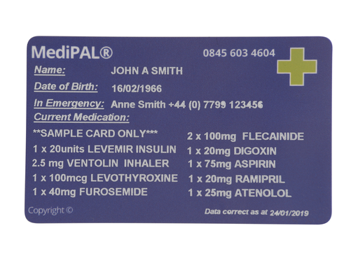 MediPAL® Additional Card
