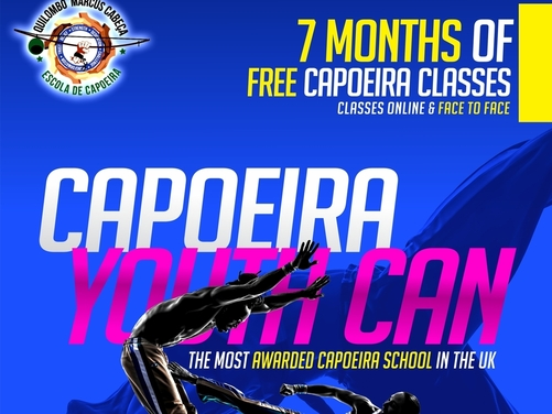7 MONTHS of FREE Capoeira Classes