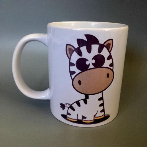 'Zebra' Mug