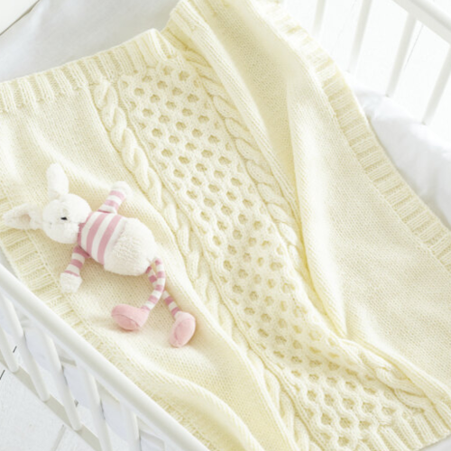 Baby Blankets Pattern 5687
