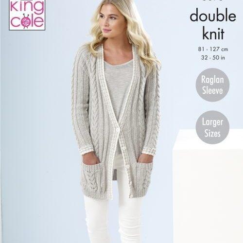 Longline Cardigan Pattern 5375