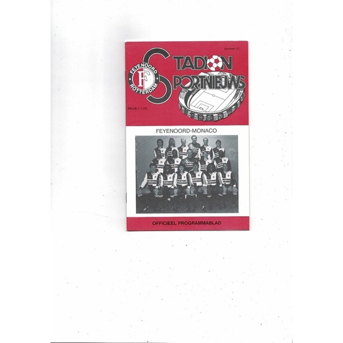 European Cup Winners Cup Semi Final Football Programmes