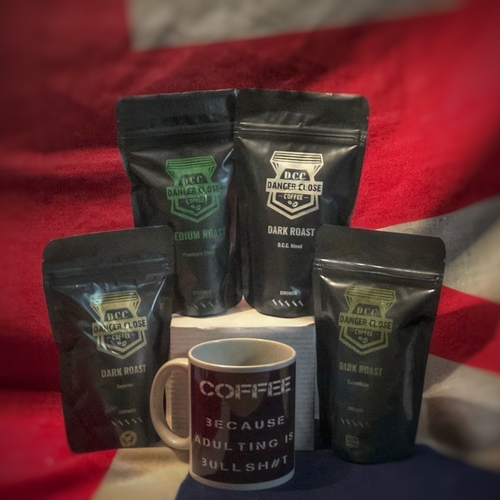 Taster pack and quote mug