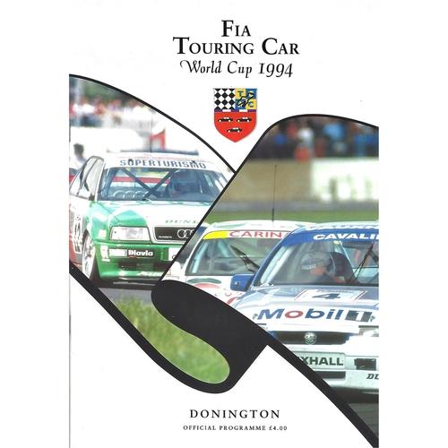 Donnington Park Motor Racing Programmes