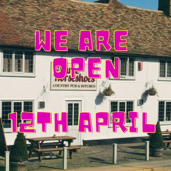 REOPENING - 12th April