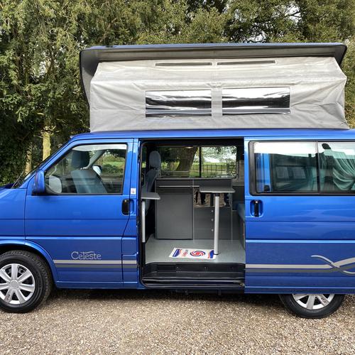 2004 Bilbo's Celeste Camper Van 2 Berth VW Transporter LWB T4 2.5 TDi AUTOMATIC