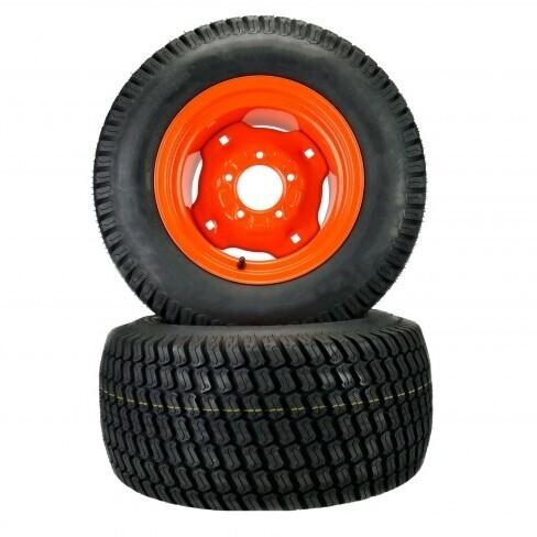 Kubota Pneumatic Tire Assemblies with Turf Tread Design 23x10.50-12