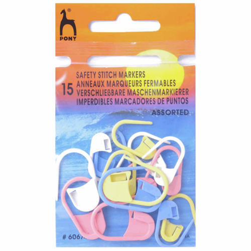 Safety Pin Stitch Markers