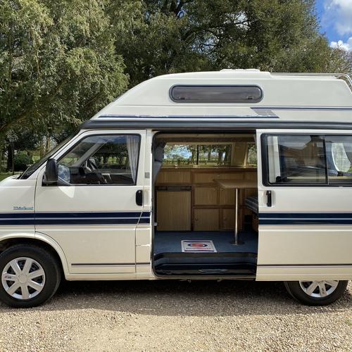 Auto Sleeper Trident Camper Van 4 Berth 1997 VW Transporter T4 2.4D 89301 Miles