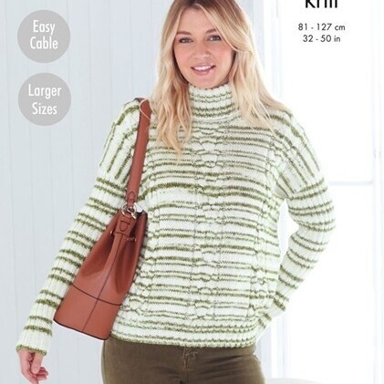 Sweater Pattern 5597