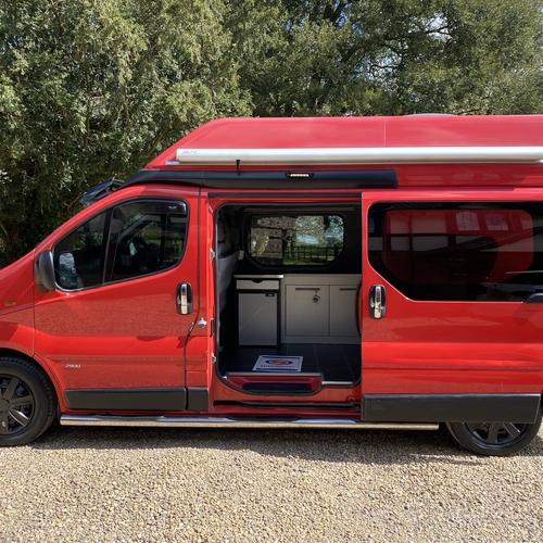 2005 Vauxhall Vivaro LWB High Top 1870cc Di 109BHP Camper Van 2 Berth