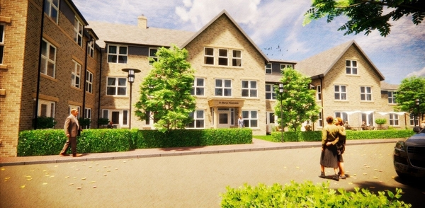 We are excited to be working on St. Marys Riverside care home in Hessle for Burlington Care