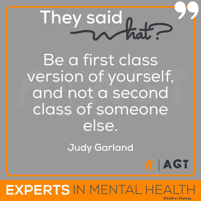 Andy Garland Therapies - Counselling Cardiff - Mental Health Services Cardiff - Cardiff Therapists - quotes and affirmations - positive affirmations - Judy Garland