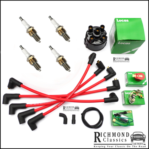 Classic Mini 1981 to 1989 Ignition Service Kit