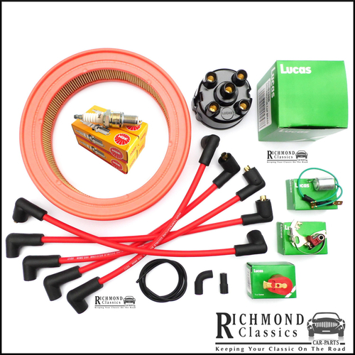 Classic Mini 1974-1981 Ignition Service Kit with Air Filter