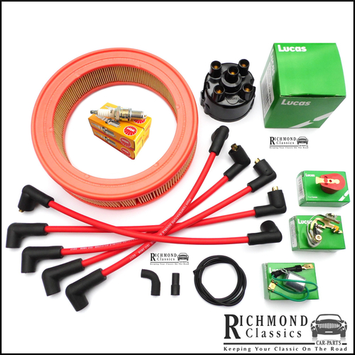 Classic Mini 1981 to 1989 Ignition Service Kit with Air Filter