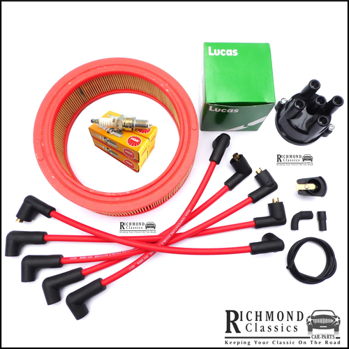 Classic Mini 1990 Cooper Ignition Service Kit - HIF38 with Air Filter