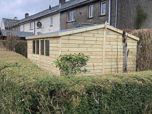 #026 16x10 Apex Shed