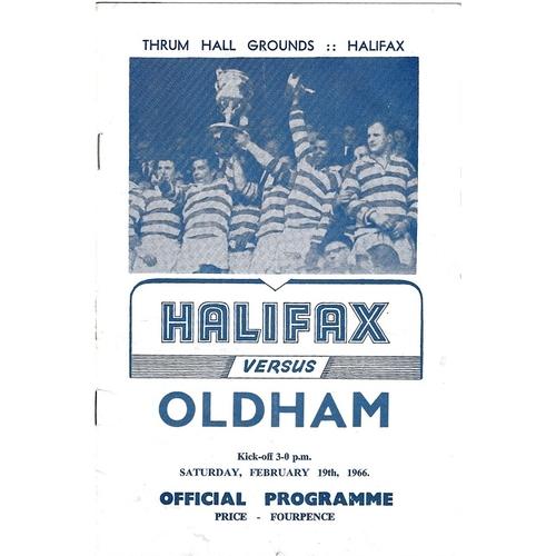 Oldham/Oldham Bears Away Rugby League Programmes