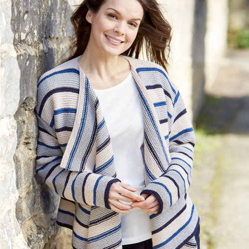 Waterfall Front Cardigan Pattern 10087