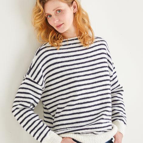 Stripey Sweater Pattern 10201