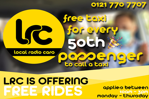 Free Ride Every 50th Passenger