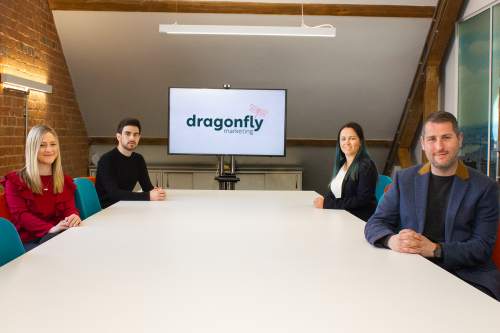Dragonfly ready to fly following appointments