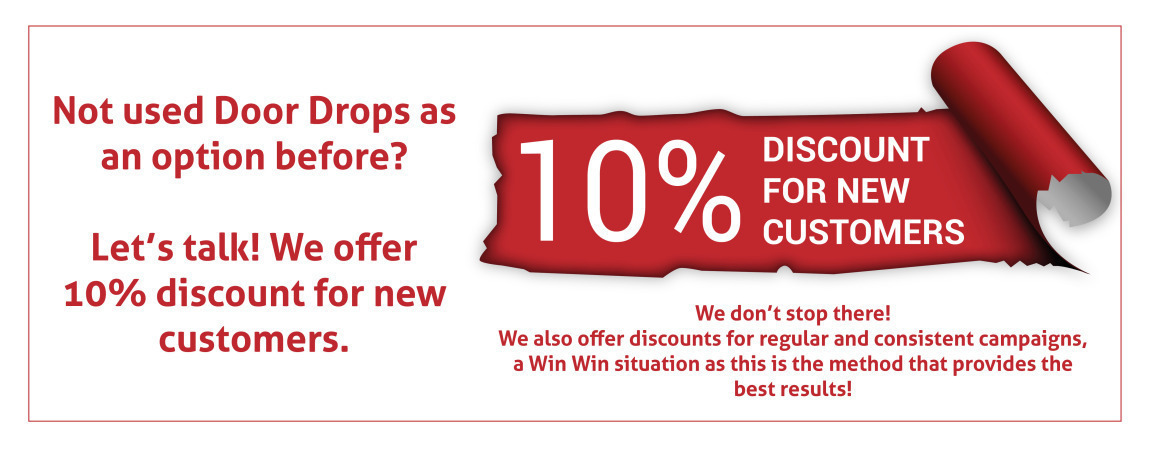 Leaflet Distributions in Sheffield New Customer Discount |  Sheffield Leaflet Distributions New Customer Discount