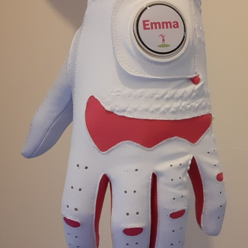 Ladies Coloured Hybrid Gloves with a FREE Personalised Ball Marker