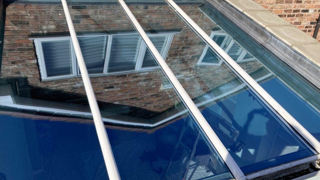 Orangery roof window film