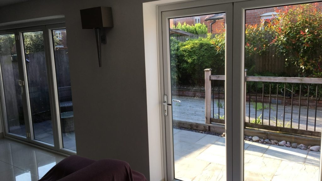 Home window film for privacy