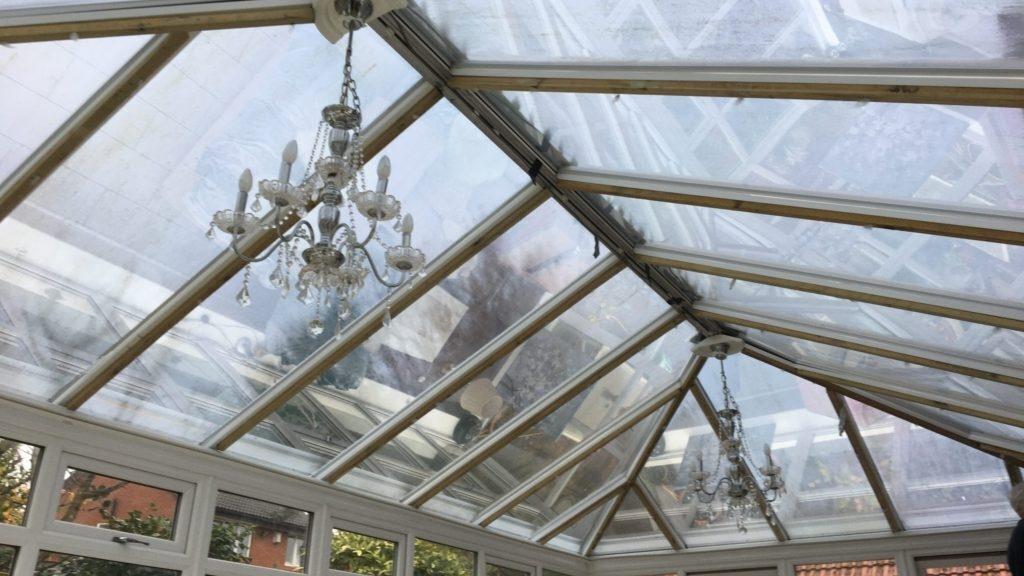 Conservatory roof film