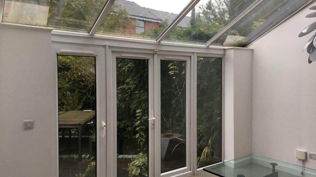 Home window film tinting