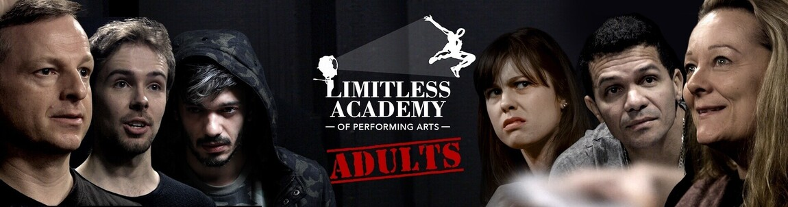 banner for our adult drama classes