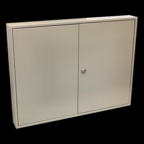 Key Cabinet 100 Key Capacity Wide - Sealey - SKC100W