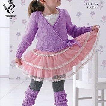 Ballet Cardigan & Legwarmers Pattern 3712