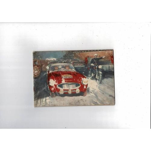 1960 Wakefield Castrol Achievements Booklet - Motorsport