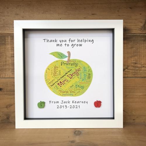 teachers apple frame