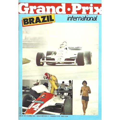 Grand Prix International Magazine Issue Number 029
