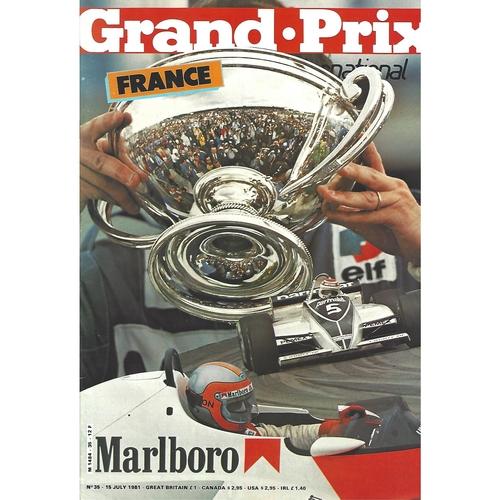 Grand Prix International Magazine Issue Number 035