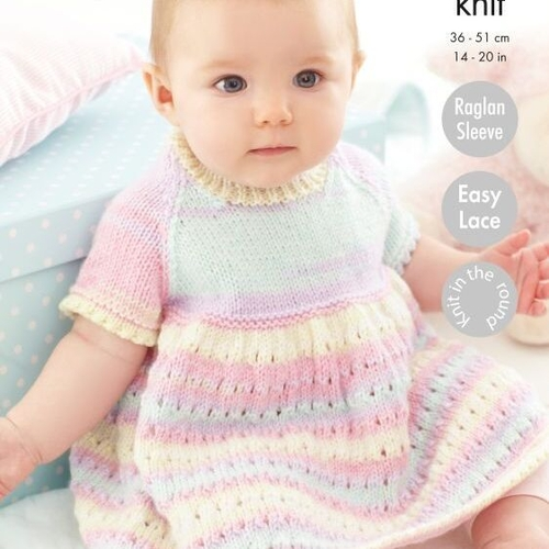 Dress, Matinee Coat & Blanket Pattern 5511