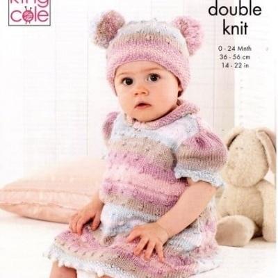 Onesie, Dress & Hat Pattern 5361